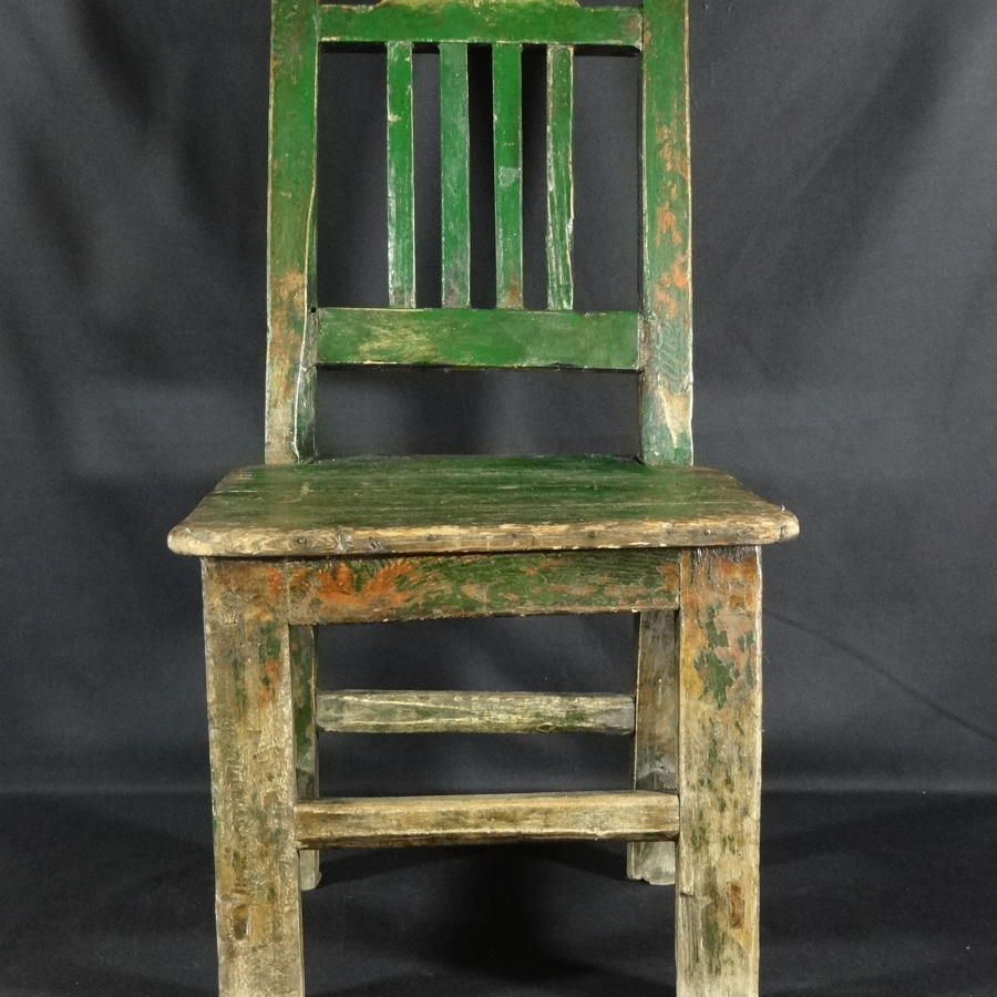 Painted childs chair