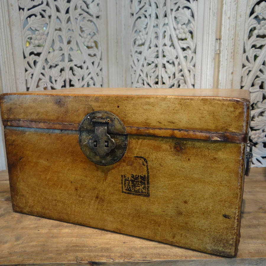 Small Chinese document box.