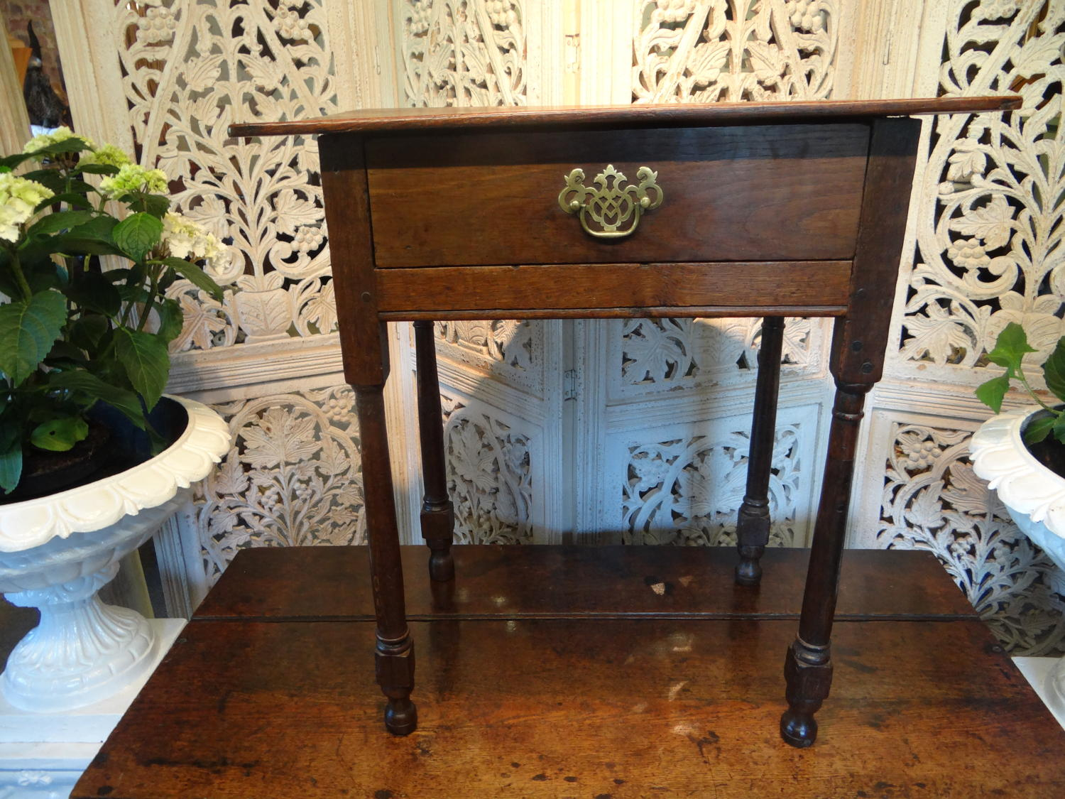 18th century oak table