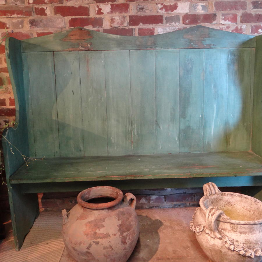 Painted Pine Settle