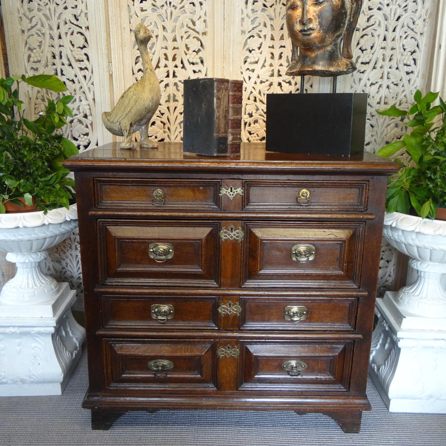 17th C Chest Of Drawers