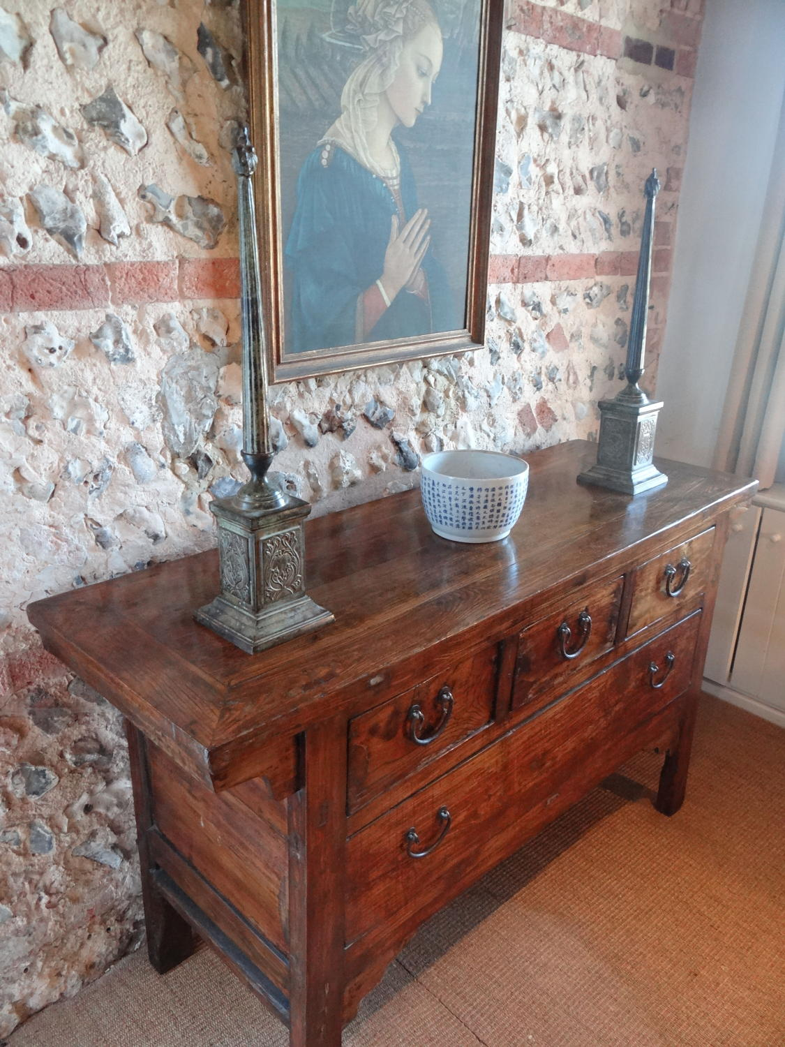 Chinese four drawer chest